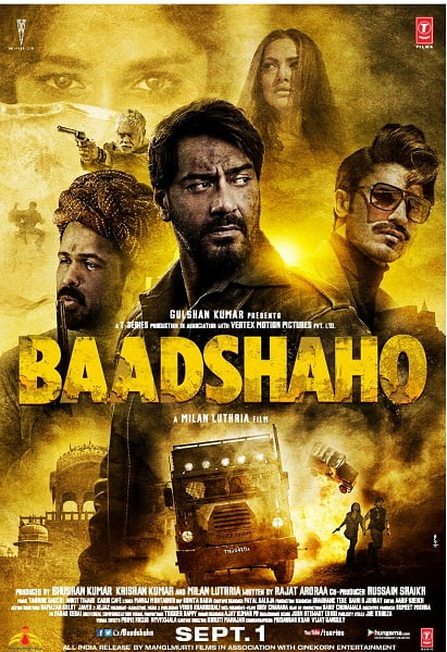 BAADSHAHO Movie Review: Nothing king size