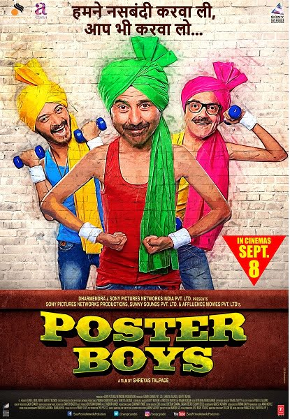 POSTER BOYS Movie Review: Crazy, silly screwball fun