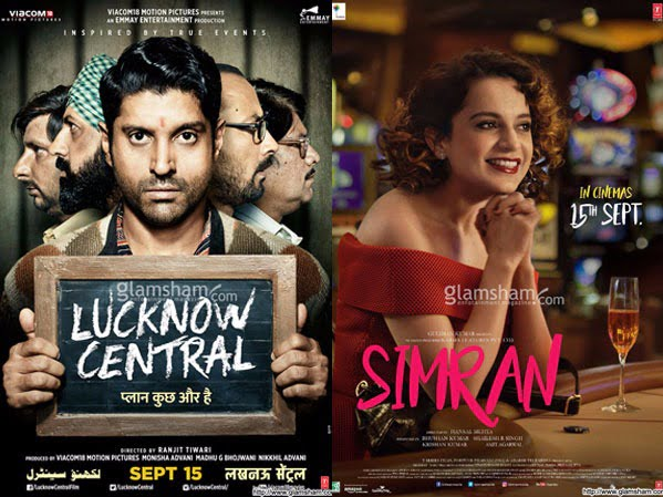 SIMRAN & LUCKNOW CENTRAL disappoint; POSTER BOYS Deols beat Arjun's DADDY!