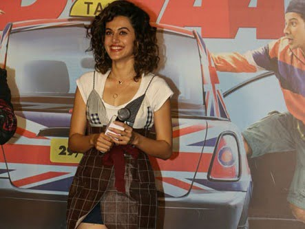 Taapsee Pannu: I went from PINK to colorful for JUDWAA 2
