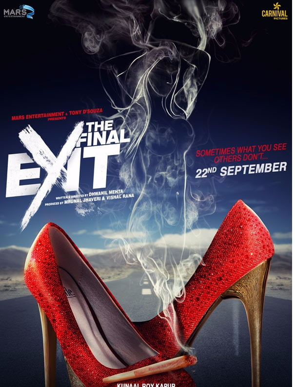 Kunaal Roy Kapur's THE FINAL EXIT poster is the right mix of mystery and oomph!