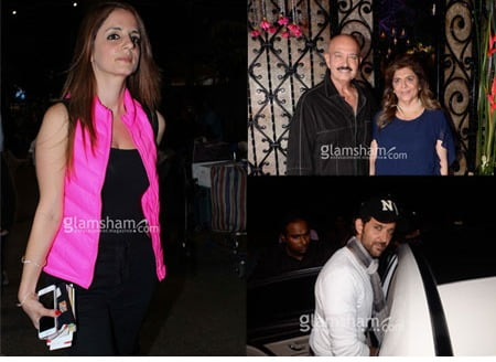 Did Sussanne Khan purposely give Rakesh Roshan's birthday party a miss?