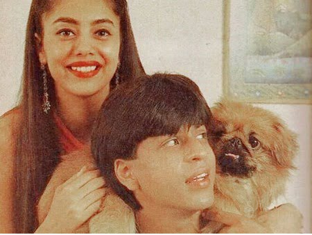 SRK and Gauri's throwback snap will give you major relationship goals!