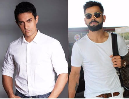 Oh My Goodness! What are Aamir Khan and Virat Kohli up to?