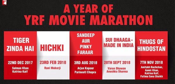 YRF to have rocking 2018 with some interesting line-up
