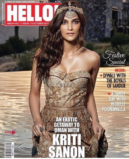 Kriti Sanon looks like a diva walking on water in her new pic and its beautiful
