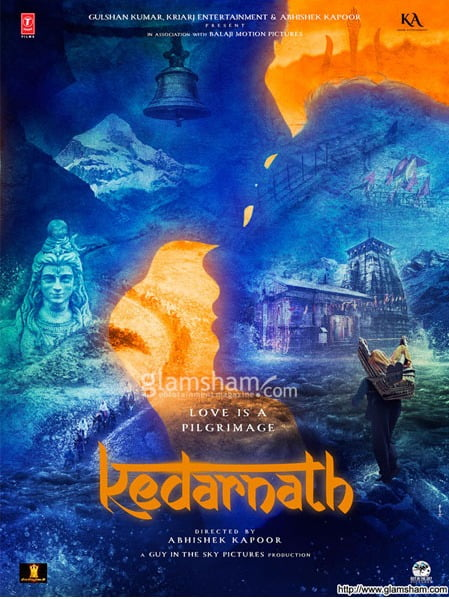 Latest poster of Sara Ali Khan's debut KEDARNATH is peaceful yet chaotic