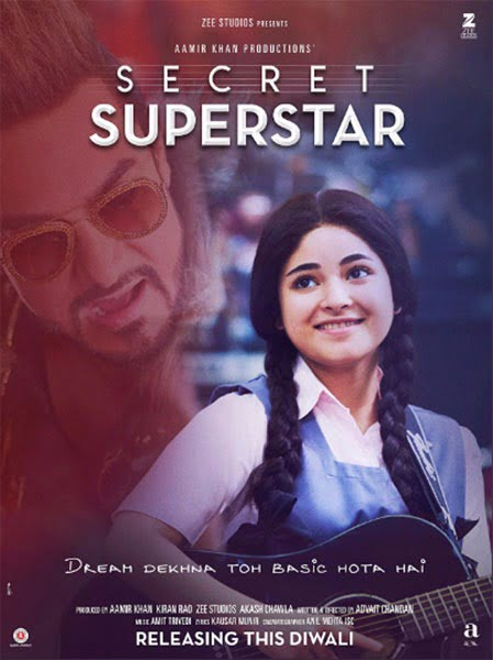 SECRET SUPERSTAR Movie Review: Poignantly spirited, eloquently relevant & beautifully magical