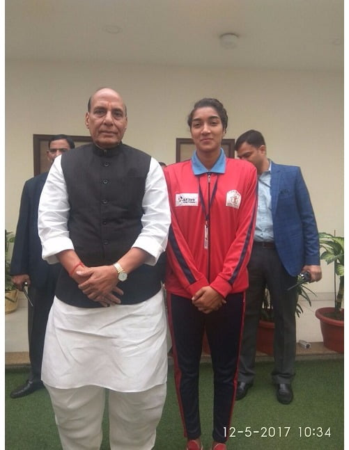 Exclusive: Biopic on Afshan Ashiq, HOPE SOLO gets Home Minister Rajnath Singh's blessings