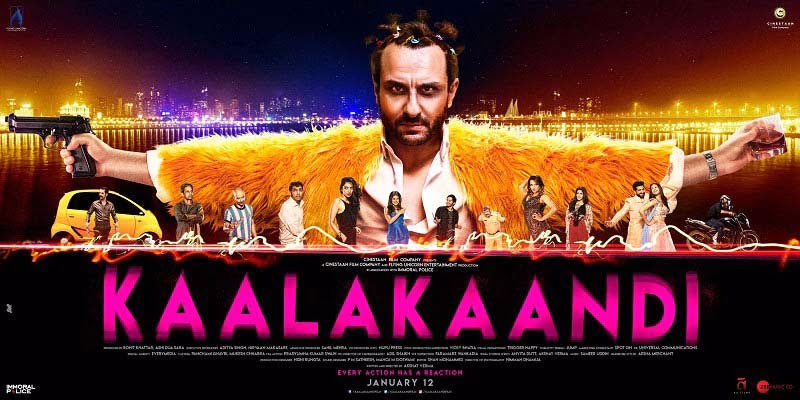 Saif's KAALAKAANDI finally gets a release date; trailer to be out today