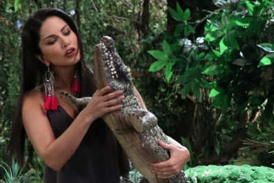 You can't miss Sunny Leone's adventurous new avatar
