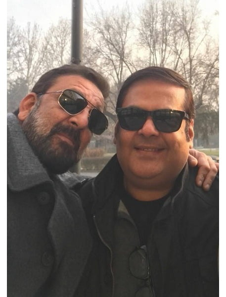 Breaking: Sanjay Dutt caught on the sets of TORBAAZ with Rahul Mittra
