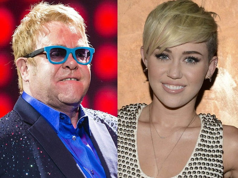 Elton John always loved Miley Cyrus because she's feisty