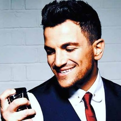 Peter Andre keen to give Buckingham Palace a makeover