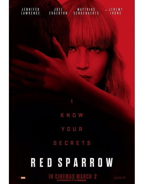 RED SPARROW Movie Review: Jennifer Lawrence seduces but the movie fails to steal the thunder