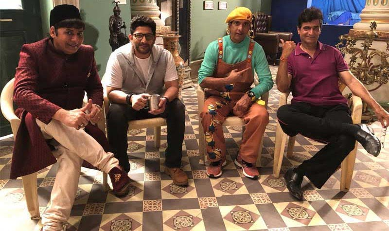 Arshad Warsi-Javed Jaffery to commence first schedule of TOTAL DHAMAAL