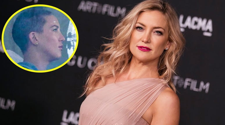 Sia shaved Kate Hudson's head for film role