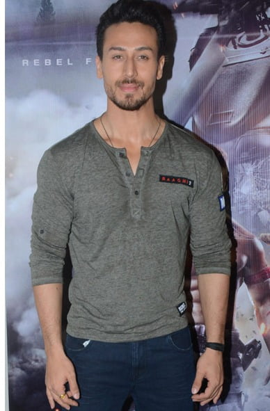 Tiger Shroff wants stuntmen to get due recognition