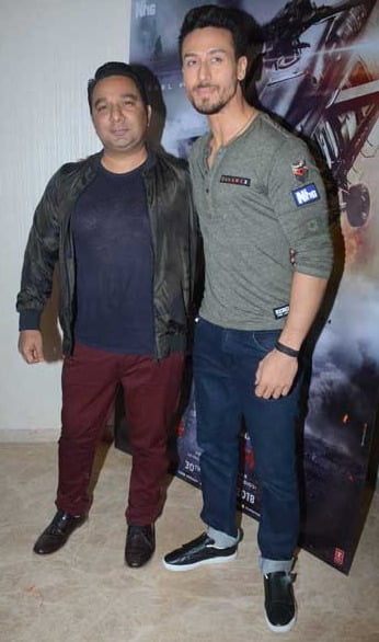 Ahmed Khan: Can't shoot just regular scenes with Tiger Shroff