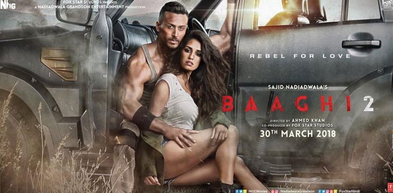 Tiger's BAAGHI 2 scorches the box-office with the biggest start of 2018!