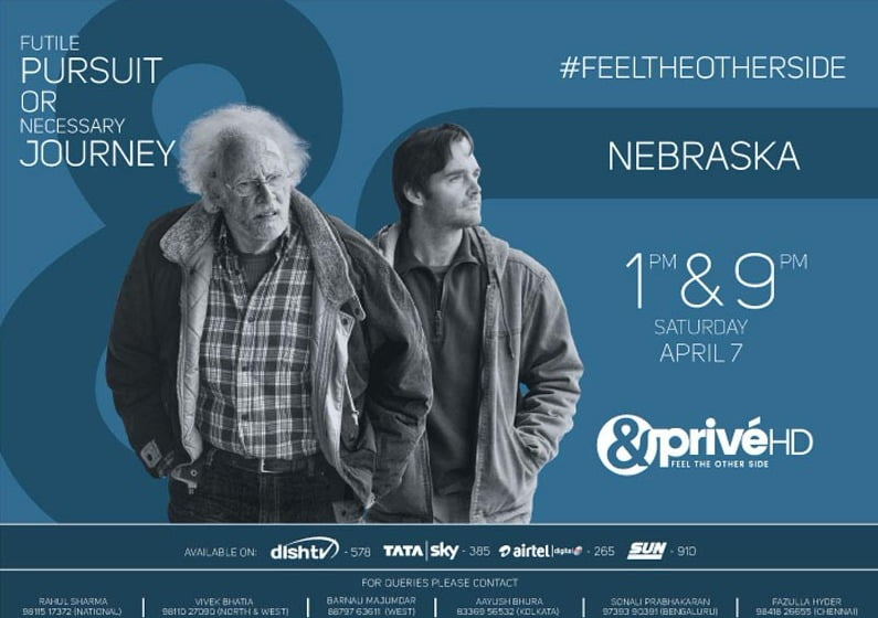 & Privé HD to take you on a ride with the people of NEBRASKA
