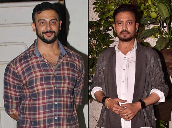 Arunoday Singh said this about Irrfan Khan