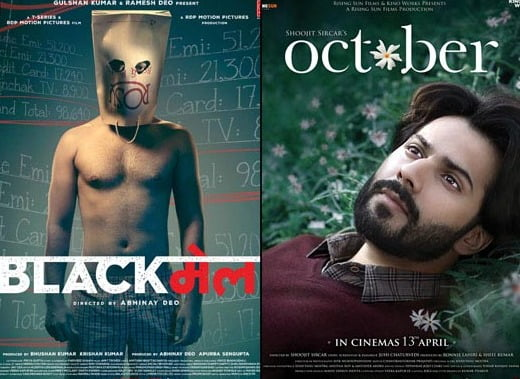 Varun's OCTOBER is slow, Irrfan's BLACKMAIL fails, Tiger is a blockbuster BAAGHI!