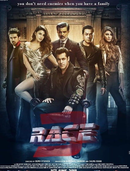Salman Khan's RACE 3 trailer to be launched in the most unique way