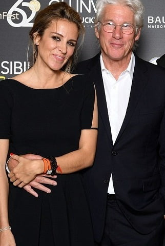 Hollywood actor Richard Gere and his wife throw wedding party