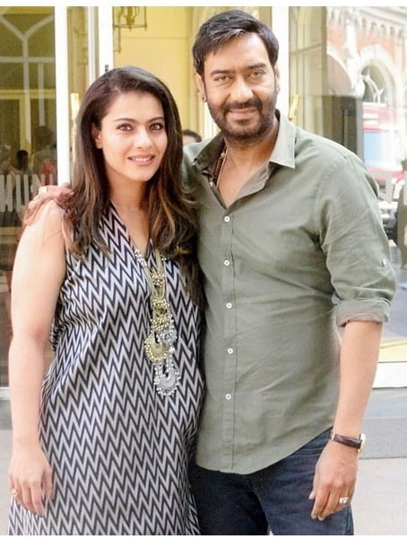 Who is better with kids Ajay or Kajol?, find out