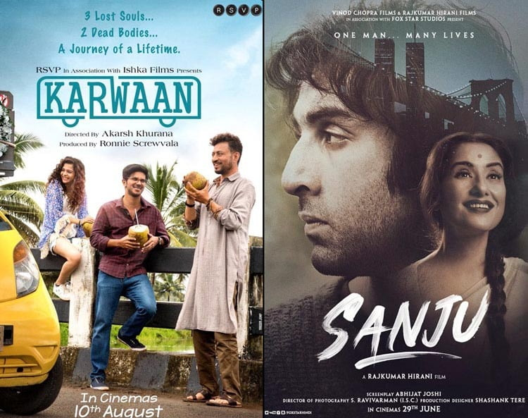 Irrfan Khan's KARWAAN trailer to be attached with SANJU