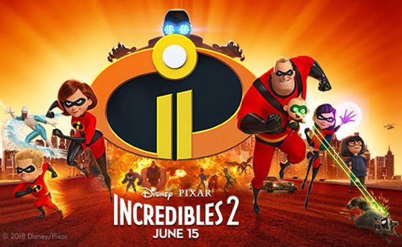 INCREDIBLES 2 smashes records in North America