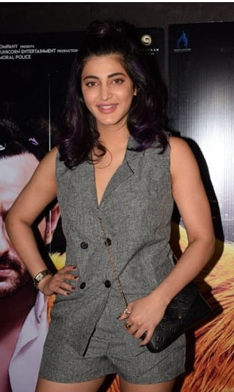 Shruti Haasan dons the hat of producer
