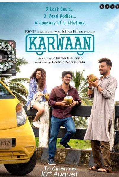 KARWAAN trailer shows Irrfan laughing in the face of death