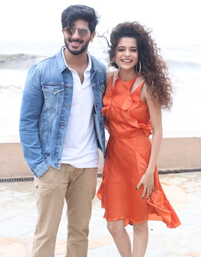 Dulquer Salmaan and Mithila Palkar look adorable as they promote their film