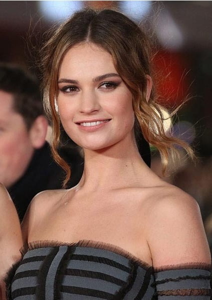 Lily James didn't speak for a week before filming MAMMA MIA 2