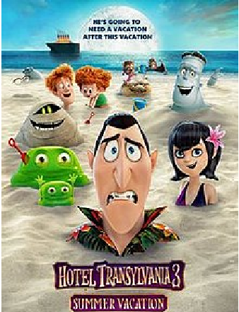 HOTEL TRANSYLVANIA 3: A MONSTER VACATION Movie Review: A sugared-up monster slapstick