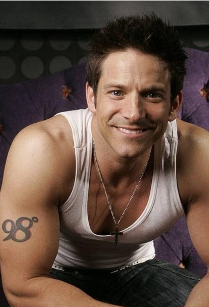 Jeff Timmons: 98 DEGREES movie would be very fun