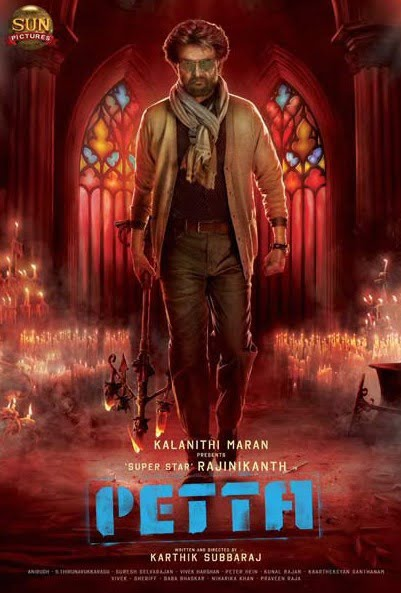 Makers release new poster of Rajinikanth's upcoming movie PETTA
