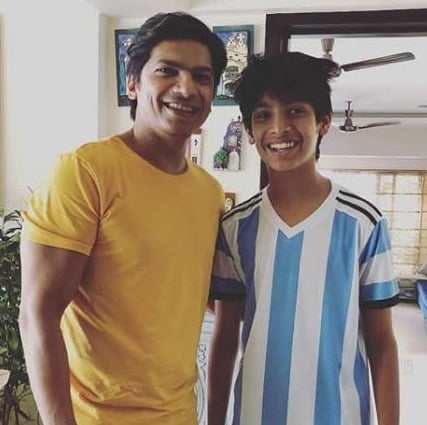 Shaan teams up with son for DuckTales