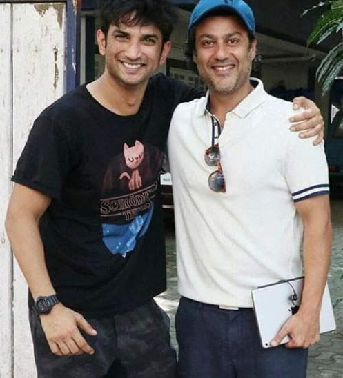 This picture of Abhishek Kapoor and Sushant Singh Rajput speaks volume of their close bond
