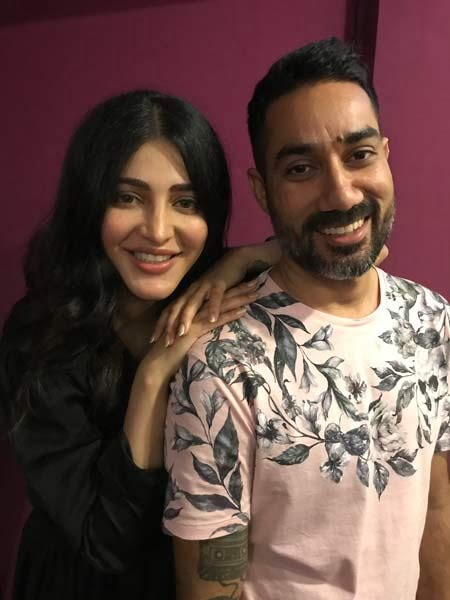 Shruti and Nucleya all set to collaborate for the very first time!