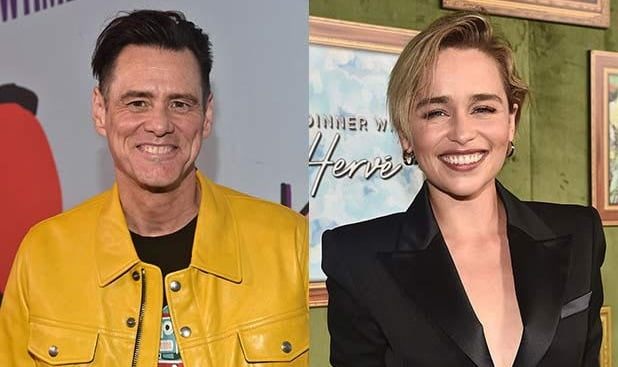 Jim Carrey, Emilia Clarke to be graced with this popular award
