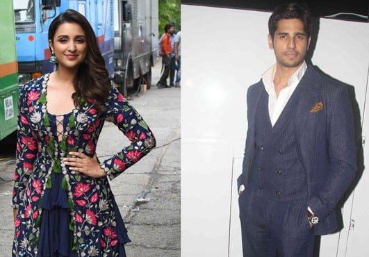 Parineeti and Sidharth get stuck in a cowshed