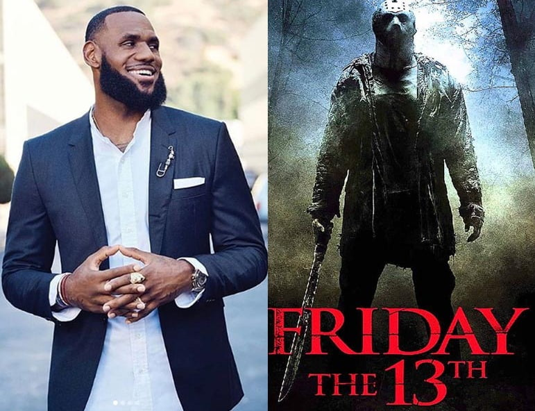 LeBron James to produce FRIDAY THE 13TH reboot