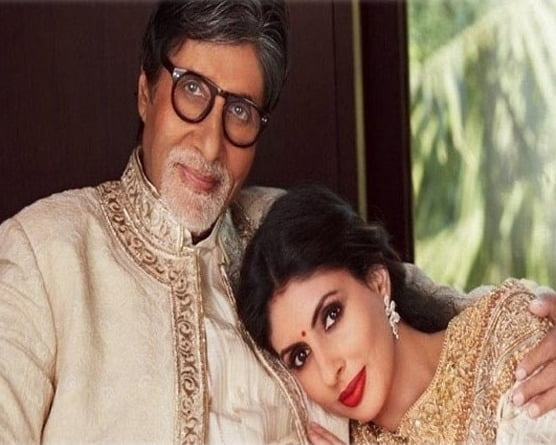 Big B and Shweta Nanda come together for a noble cause