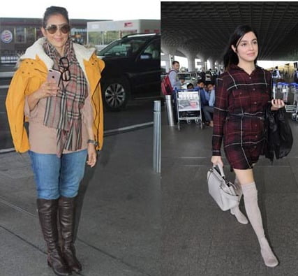 Tips on dressing your feet this winter bollywood style