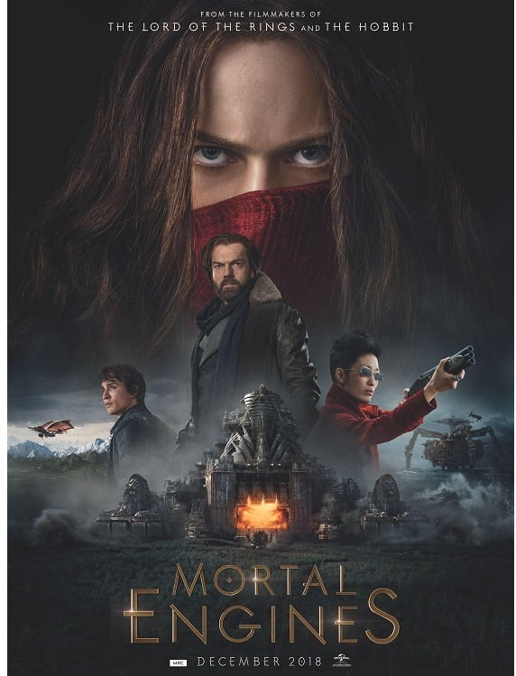 Movie Review Mortal Engines – Stunningly Big!