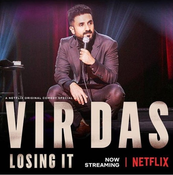 Vir Das' new Netflix special is out and the internet is already raving about it!