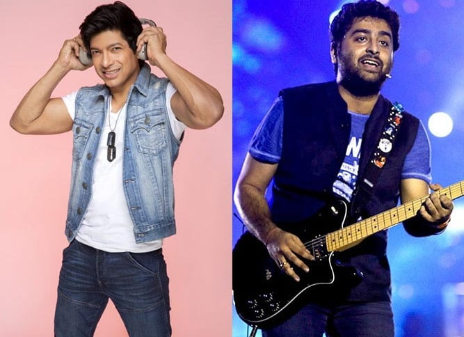 Shaan-Arijit bag special honors from Bengal Government
